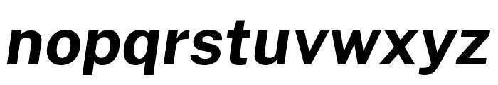 Cheyenne Sans Bold Italic Font LOWERCASE