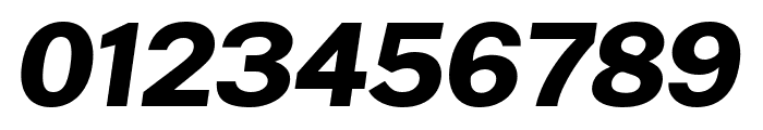 Cheyenne Sans ExtraBold Italic Font OTHER CHARS