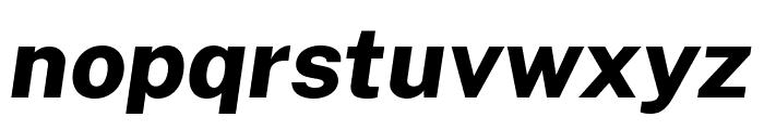 Cheyenne Sans ExtraBold Italic Font LOWERCASE