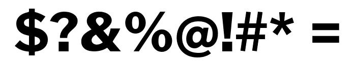 Cheyenne Sans ExtraBold Font OTHER CHARS