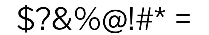Cheyenne Sans Light Font OTHER CHARS