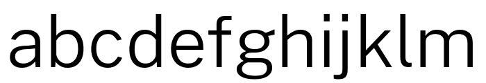 Cheyenne Sans Light Font LOWERCASE