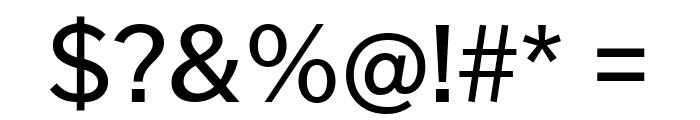 Cheyenne Sans Medium Font OTHER CHARS