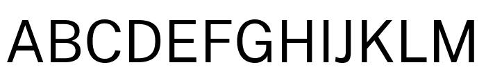 Cheyenne Sans Regular Font UPPERCASE