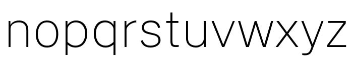 Cheyenne Sans Thin Font LOWERCASE