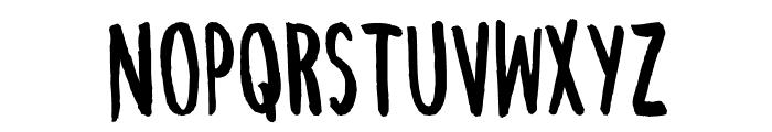 ChezVous-Regular Font UPPERCASE
