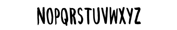 ChezVous-Regular Font LOWERCASE