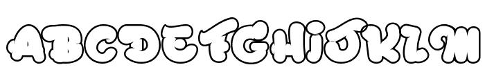 Chicago Eskimo Font UPPERCASE