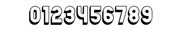 Chicago Flat 3D Regular Font OTHER CHARS