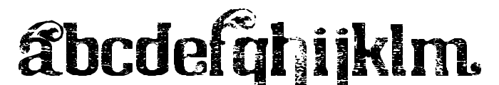 Chicago House_trial Font LOWERCASE