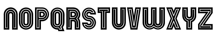 Chicago Neon Regular Font UPPERCASE