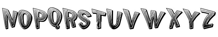 Chicken Butt Font UPPERCASE