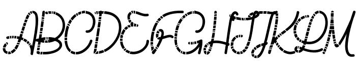 Chicken Socks Font UPPERCASE