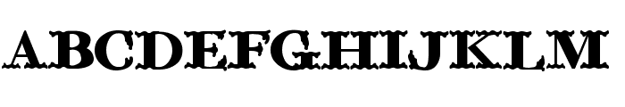 ChickenFarm Font UPPERCASE