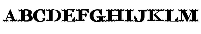 ChickenFarm Font LOWERCASE