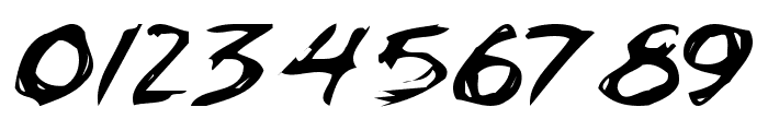 ChickenScratch AOE Font OTHER CHARS
