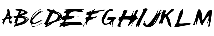 ChickenScratch AOE Font UPPERCASE