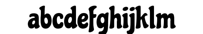 Chicle Regular Font LOWERCASE