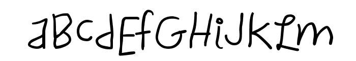 ChildWritten-Bold Font UPPERCASE