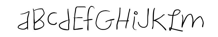 ChildWritten Font UPPERCASE