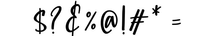 Childish Font OTHER CHARS
