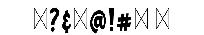 ChildishFree Font OTHER CHARS