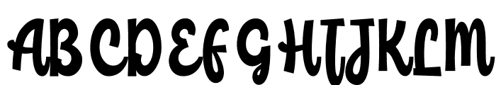 ChildishFree Font UPPERCASE