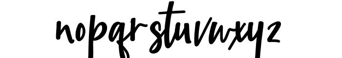 Childish Font LOWERCASE