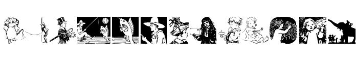 Children Font LOWERCASE