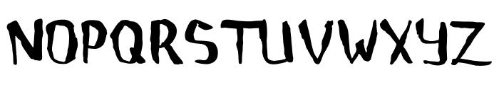 Childrenalien-Regular Font UPPERCASE