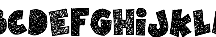 Children's Theater Font UPPERCASE