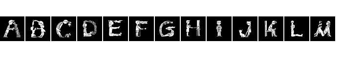 ChildrensAlphabet Font LOWERCASE