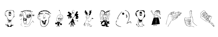 ChildrensWorld Font LOWERCASE