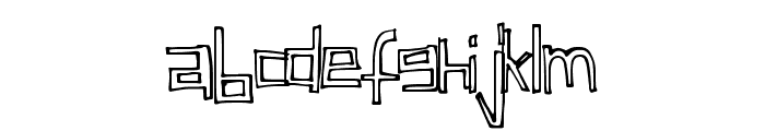 ChildsFuntime Font LOWERCASE