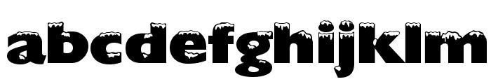 Chilled Regular Font LOWERCASE