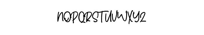 Chillhop Font UPPERCASE