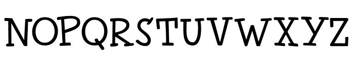 Chilly Cherry DEMO Regular Font UPPERCASE