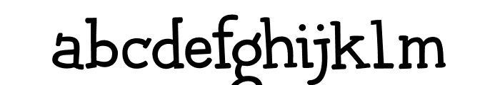 Chilly Cherry DEMO Regular Font LOWERCASE