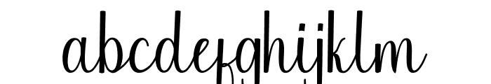 Chinchilla Font LOWERCASE