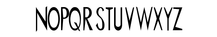 ChineMen Font UPPERCASE