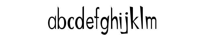 ChineMen Font LOWERCASE