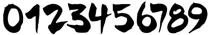 Chinela-Brush Font OTHER CHARS