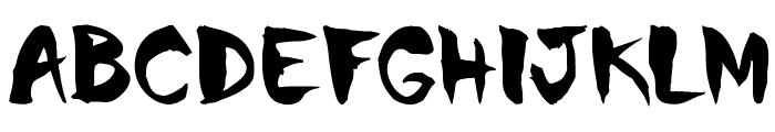 Chinela Brush Font UPPERCASE