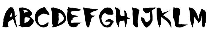 Chinela Brush Font LOWERCASE