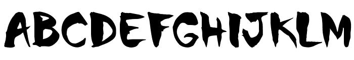 Chinela-Brush Font UPPERCASE