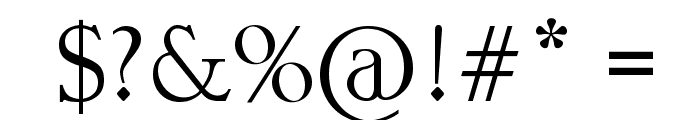 Chinese Asian Style Font OTHER CHARS