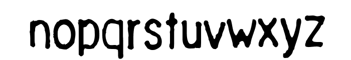Chinese Ruler Font LOWERCASE
