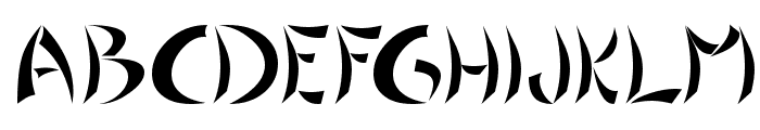 Chinoiseries Tryout Font UPPERCASE