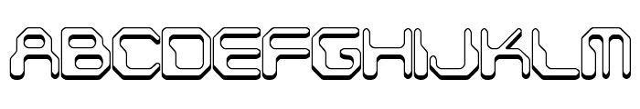 Chintzy CPU Shadow BRK Font UPPERCASE
