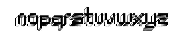 ChipTunes-Bold Font LOWERCASE